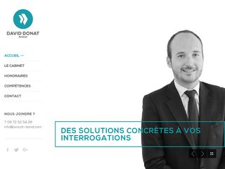 Un site internet d'avocat à Mulhouse