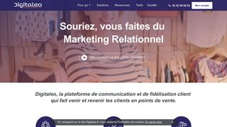 Solution marketing en ligne
