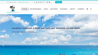 Location appartement Nice nord – NiceRent.fr