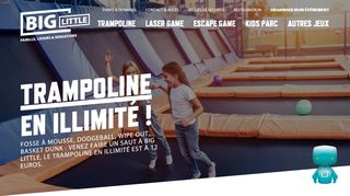 Trampoline, laser game, kids parc, escape game