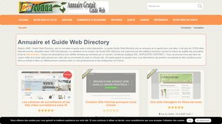 Annuaire sites web professionnels – Guide web Directory